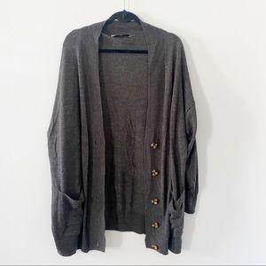 ZARA Knit boxy oversized drop shoulder sweater